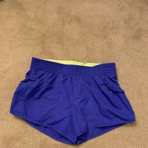 Purple MPG work out shorts